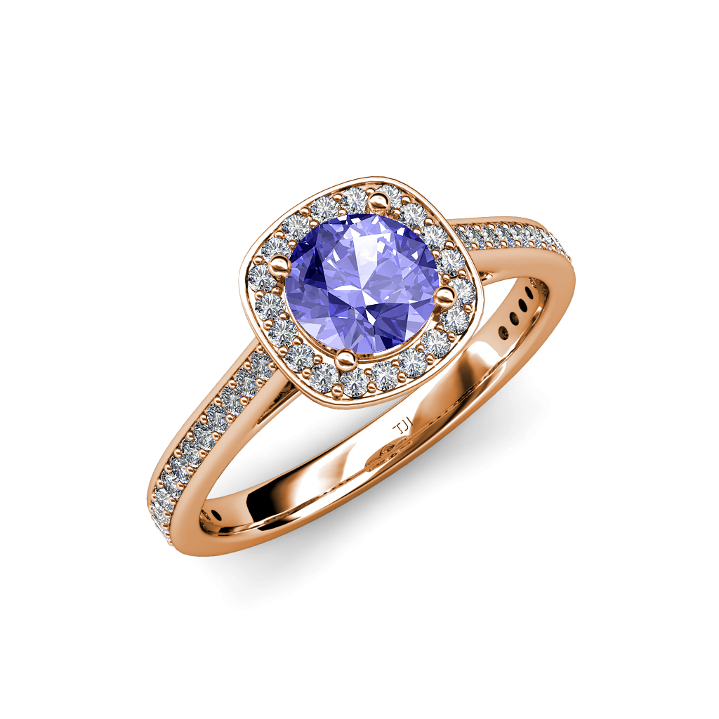Tanzanite and Diamond ...