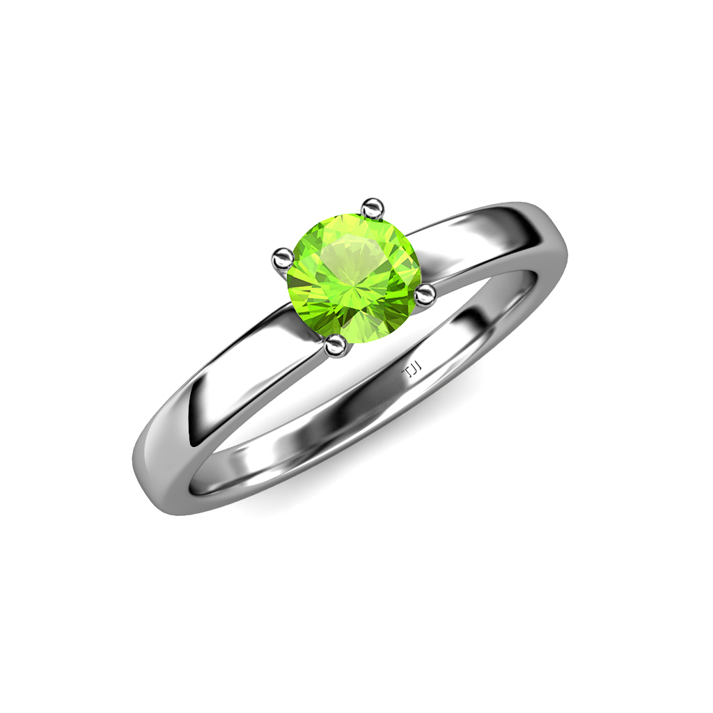 estate jewelry peridot owned diamond engagement ring fr pre silver vintage luxury large en us rings lxrandco tone platinum